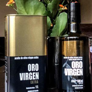 Pirmojo spaudimo alyvuogų aliejus ORO VIRGEN EXTRA