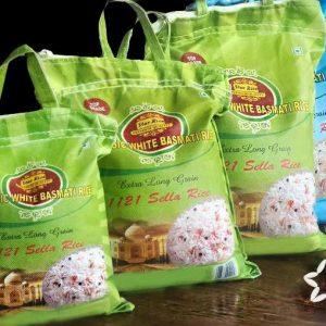 Basmati ryžiai Sella Rice – ryžiai tiesiai iš Indijos